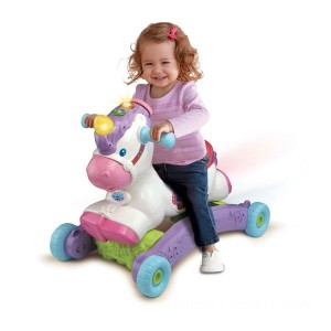 VTech Rock & Ride Unicorn - Sale