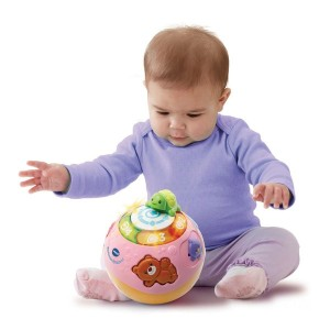 VTech Crawl & Learn Bright Lights Ball Pink - Sale