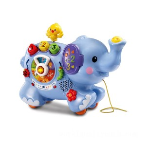 VTech Pull & Play Elephant - Sale