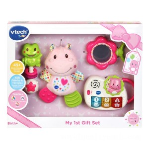 VTech My First Gift Set Pink - Sale