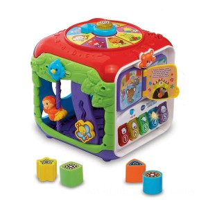 VTech Sort & Discover Activity Cube - Sale