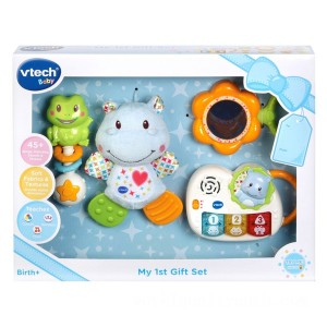 VTech My First Gift Set Blue - Sale