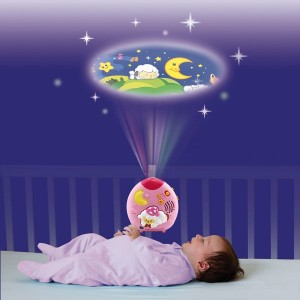 VTech Lullaby Sheep Cot Light - Pink - Sale