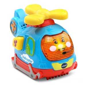 VTech Toot-Toot Push and Spin Helicopter - Sale