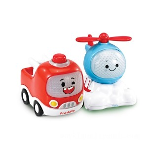 Vtech Toot-Toot Cory Carson Freddie & Halle Mini Duo Vehicle - Sale