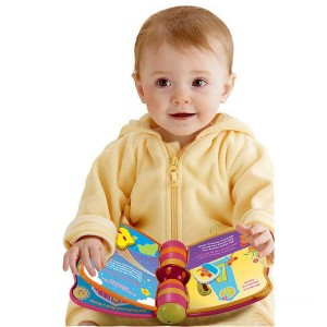 VTech Peek-a-Boo Book Pink - Sale