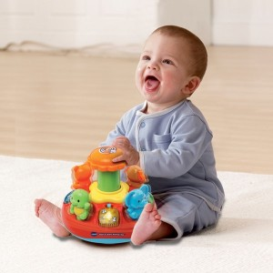 VTech Push & Play Spinning Top - Sale
