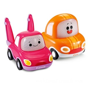 VTech Toot-Toot Cory Carson Cory & Frannie Mini Duo 2 Pack - Sale