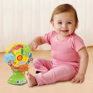 VTech Little Friendlies Sing Along Spinning Wheel - Sale