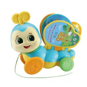 Vtech Pull-Along Butterfly Book - Sale