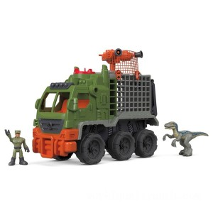 Imaginext Jurassic World Dinosaur Hauler Car Toy - Sale
