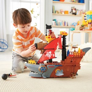 Imaginext Shark Bite Pirate Ship Playset - Sale