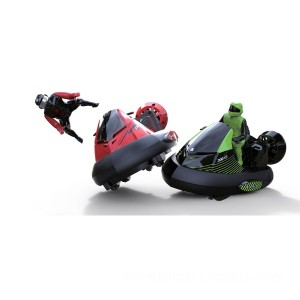 Remote Control Bumper Cars with Drivers - Sale