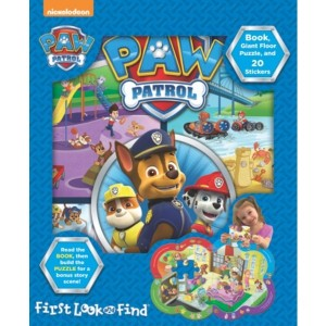 My First PAW Patrol Look and Find Book & Puzzle - Sale