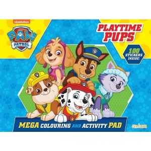 PAW Patrol Giant Activity and Colouring Pad PB - Sale
