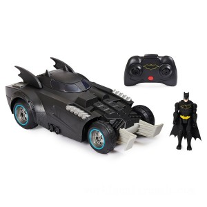 Remote Control Batman Launch and Defend Batmobile Vehicle - Sale