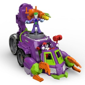 Imaginext DC Super Friends The Joker & Harley Quinn Battle Vehicle Play Set - Sale