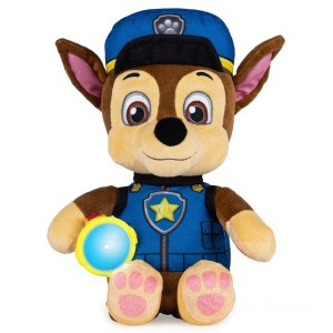 Paw Patrol Snuggle Up Pups - Chase - Sale