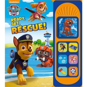 Nickelodeon PAW Patrol Ready, Set, Rescue Little Sound Book - Sale
