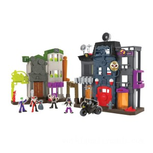 Imaginext DC Super Friends Batman Crime Alley - Sale