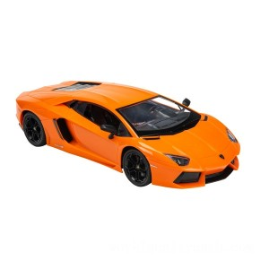 Remote Control 1:14 Lamborghini Aventador Coupe Orange Car - Sale