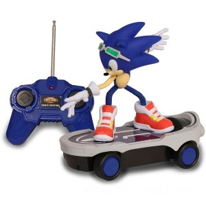 Remote Control Sonic The Hedgehog Free Riders Racer - Sale
