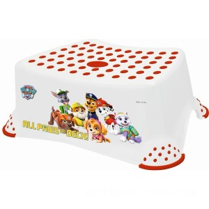 Nickelodeon PAW Patrol Step Stool – White and Red - Sale