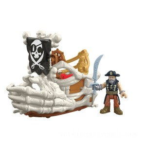 Imaginext Core Feature Pirate Billy Bones - Sale