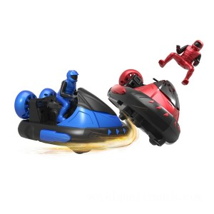 Remote Control Battle Bumper Cars with Drivers - Sale