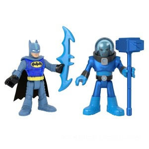 Imaginext DC Super Friends Batman and Mr. Freeze Figures - Sale