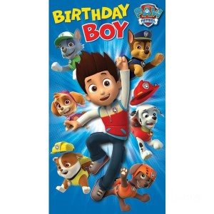 PAW Patrol Birthday Card - Sale