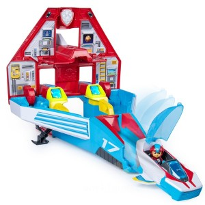PAW Patrol Super PAWs Mighty Jet Command Center - Sale