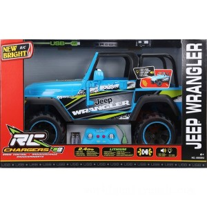 New Bright Radio Control Jeep Wrangler - Sale