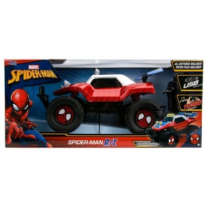 Remote Control Marvel Spider-Man 1:14 Car - Sale