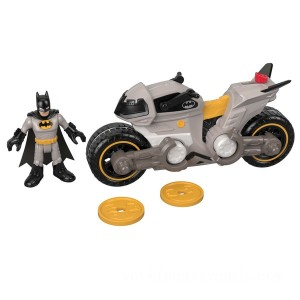 Imaginext DC Super Friends Batman and Cycle - Sale