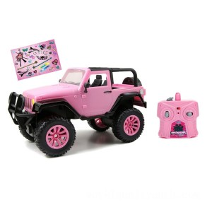 Remote Control 1:16 Girlmazing Jeep Wrangler - Sale