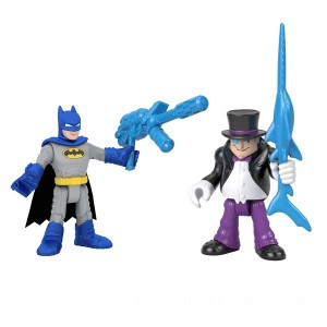 Imaginext DC Super Friends Batman & The Penguin - Sale