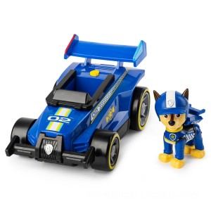 PAW Patrol Ready Race Rescue Chase's Race and Go Deluxe Vehicle - Sale