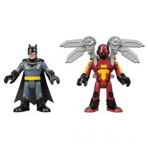 Imaginext DC Super Friends Firefly and Batman - Sale