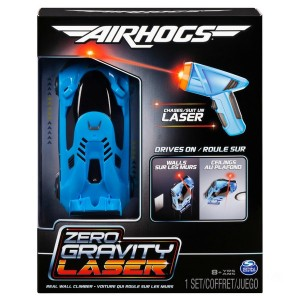 Remote Control Air Hogs Zero Gravity Laser Racer Blue Car - Sale