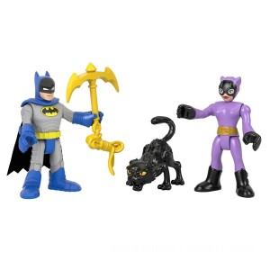 Imaginext DC Super Friends Batman & Catwoman - Sale