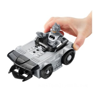 Imaginext DC Super Friends Slammers Batmobile and Mystery Figure - Sale