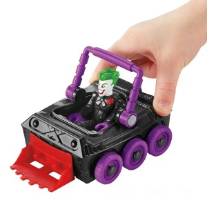Imaginext DC Super Friends Slammers Laff Mobile and Mystery Figure - Sale