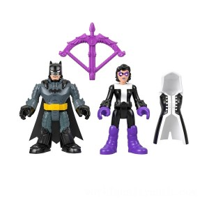 Imaginext DC Super Friends Batman and Huntress - Sale