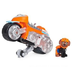 PAW Patrol Moto Pups Zuma's Deluxe Pull Back Motorcycle Vehicle - Sale