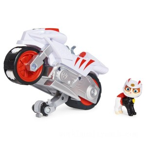 PAW Patrol Moto Pups Wildcat's Deluxe Pull Back Motorcycle Vehicle - Sale
