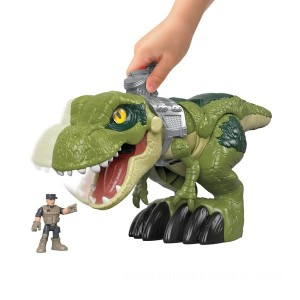Imaginext Jurassic World Mega Mouth T.rex Kids' Dinosaur - Sale