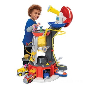 PAW Patrol Mighty Pups Super PAWs Lookout Tower Playset with Lights and Sounds - Sale