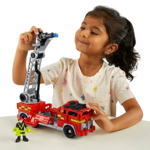 Imaginext City Fire Engine Vehicle and Figure Set - Sale