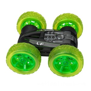 Remote Control Light Up Stunt Flipper Vehicle - Sale